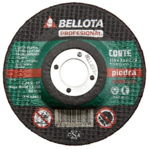DISCO C PIEDRA PRO 115x3 mm.