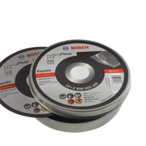 DISCO C FINO INOX 115x1 mm.